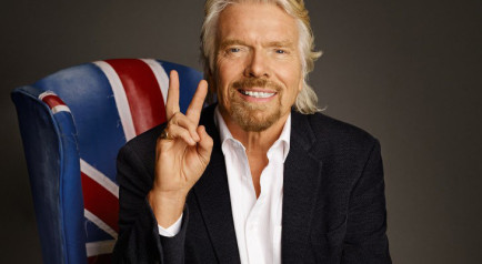 Heels Agency Richard Branson Demi Karan