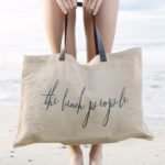 the beach people jute bag heels agency demi karan