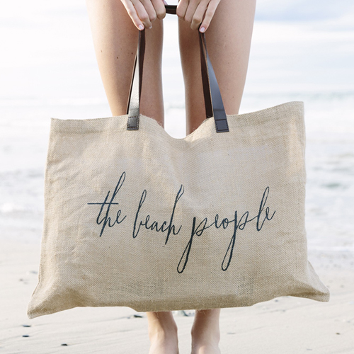 the beach people jute bag heels agency demi karan