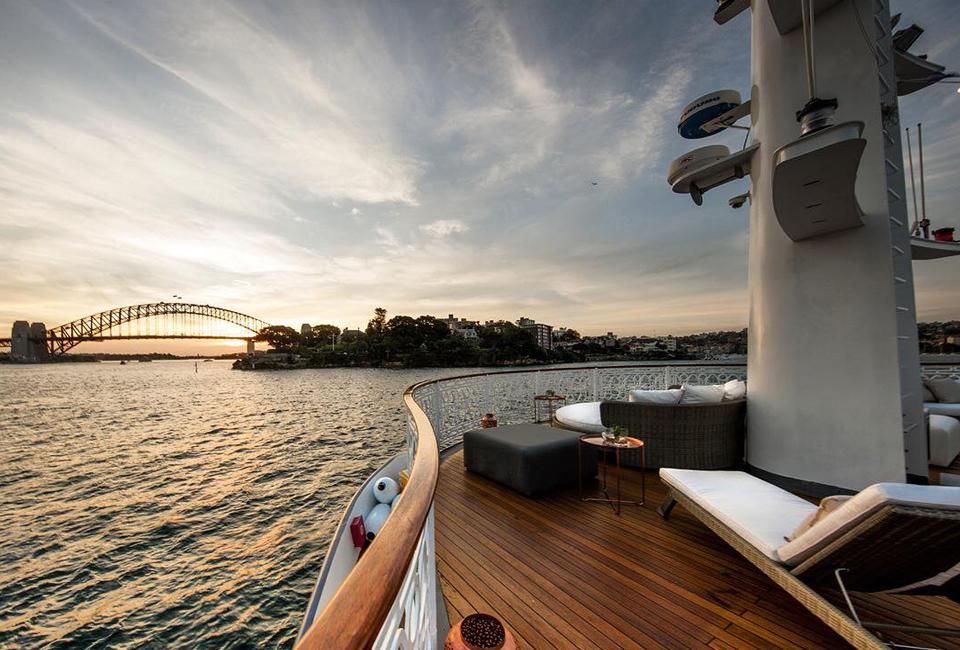 Seadeck Sydney Harbour Anchors Heels Agency