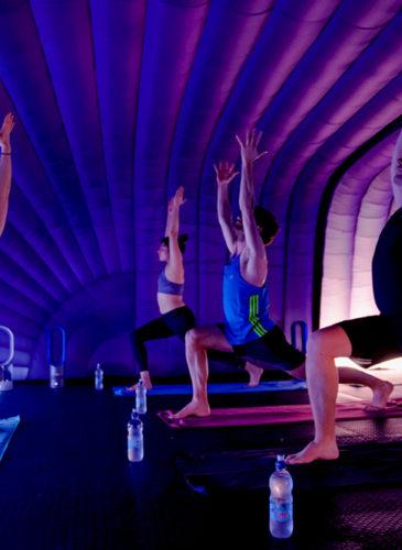 hotpod yoga franchise heels agency demi karan