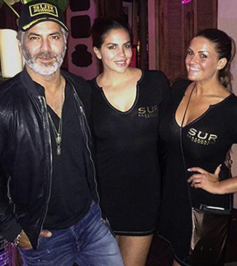 Guillermo Zapata SUR Restaurant & Lounge Heels Agency Demi Karan