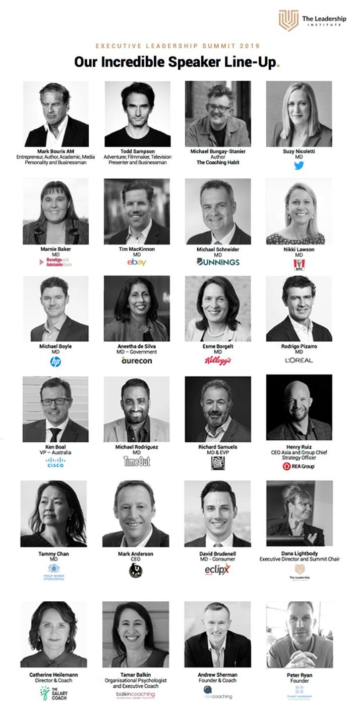heels agency - demi karan - leadership summit - mark bouris - todd sampson
