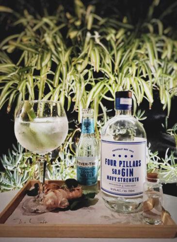 Four Pillars Gin Laboratory Eileen's Bar Sydney Heels Agency Demi Karan